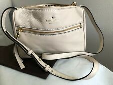 Kate Spade Beige Crossbody Genuine Leather Handbag Bag