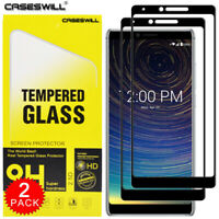 For Coolpad Legacy - Caseswill [Full Coverage] Tempered Glass Screen Protector