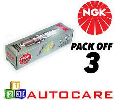 NGK Laser Iridium Spark Plug set - 3 Pack - Part Number: IKR6G11 No. 7980 3pk