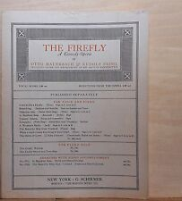 Tommy Atkins - 1912 large sheet music - from comedy-opera The Firefly