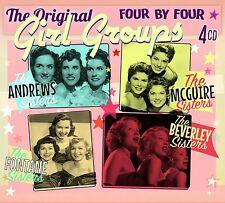"""""""The Original Girl Groups"""" Andrews Sisters, McGuire, Fontane, Beverley Sisters"""