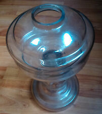 antique Glass Body for kerosene oil lamp 1920s traditional lighting home decor