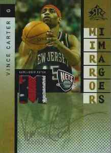 2006-07 UD Reflections Vince Carter Andre Iguodala Dual PATCHES #39/50 AWESOME