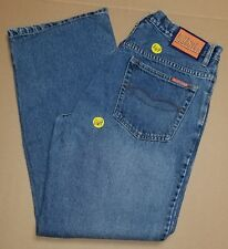 Fighting Illini Team Jeans Straight Leg Blue Jeans women's size 14 (#1169) AAC22