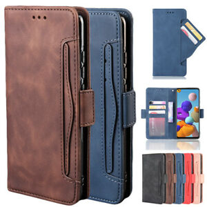 For Xiaomi Redmi Note 9S 9 8 8T 7 K20 9T Pro Case Leather Wallet Card Flip Cover