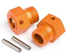 HPI Racing 87495 Wheel Hex Hub 24x27mm (2) Orange Baja 5T / Baja 5B SS