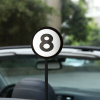 Car Antenna Accessories Eight 8 Ball Pattern Aerial Ball Decor Topper Gift Toy