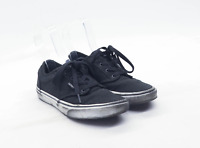 Vans Boys UK Size 4 Black Plimsolls