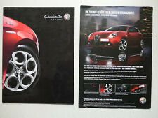 Prospekt Alfa Romeo Giulietta Sprint, 10.2014, 14 S. + Preisliste/Farben/Daten