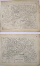 MAPS PLANS BATTLE HOHENLINDEN BAVARIA FRENCH AUSTRIANS