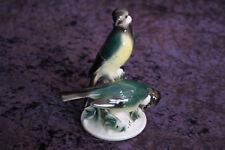 Meisen WA Wagner & Apel Porzellan Figur Vögel Vogel Gruppe Porzellanfigur 14cm (