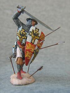 18th Teutonic Grand Master Luther von Braunschweig. Elite tin soldier 54 mm.