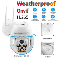 1080P WIFI IP Camera Wireless Outdoor CCTV HD Home Security IR Cam IP66 CY7