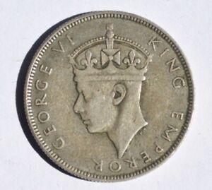 Seychelles  1 rupee 1939 silver