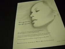 Diana Ross is Singularly Supreme 2000 Promo Poster Ad in mint condition
