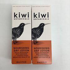 Kiwi Botanicals Nourishing Day Lotion Facial Moisturizer Manuka Honey SPF 30