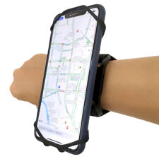 Jogging Running Phone Holder Wristband 180°Rotatable Forearm Armband for iPhone