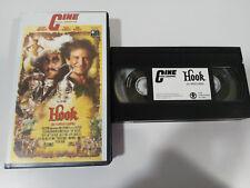 ACCROCHER LE CAPITAINE CROCHET BANDE VHS FILM ROBIN WILLIAMS STEVEN SPIELBERG