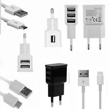 1A/2A USB Chargeur Mural Secteur Adaptateur EU Prise Pour iPhone Samsung HTC