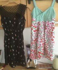 Fornarina Girls Dress Age 10 And Goldstone Dress Items X2