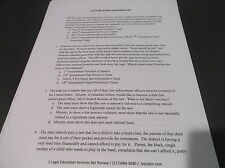 Law School Bar Exam MBE w/ audio explanations Constitutional Law multiple choice