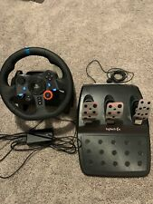 Logitech G29 (941000112) Driving Force Racing Wheel + Floor Pedals PS3, PS4, PC
