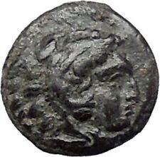 PERGAMON in MYSIA 310BC Hecules Athena Authentic Ancient Greek Coin i48665