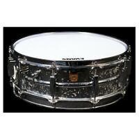 "Ludwig 5"" x 14"" Supraphonic Aluminum Snare Drum w/ Mid 1960s Keystone Badge"