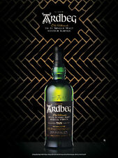 ARDBEG TEN YEAR  POSTER  18 BY 27  NEW
