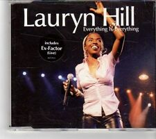 (FK484) Lauryn Hill, Everything Is Everything - 1999 CD