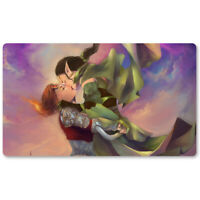 Nissa x Chandra - Board Game MTG Playmat Games Mousepad Play Mat of TCG