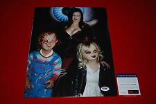 sexy JENNIFER TILLY poker signed PSA/DNA 11X14 photo bride of chucky 11