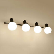 Modern black mirror light E14 bulbs bathroom toilet dressing room vanity lights