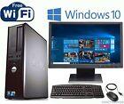 Dell All-In-One Desktop Computer w/Windows 10 Dual Core 4GB 80GB 17