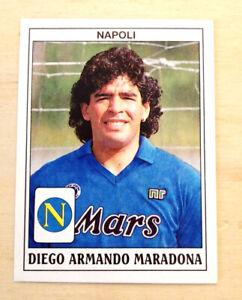 Figurina calciatori panini 1989-1990 Diego Armando Maradona n° 260 Napoli ottima