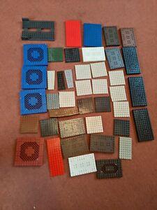 MEGA BLOKS MIXED RANDOM ASSORTED BLOCKS PARTS PIECE base panels BUNDLE Mixed