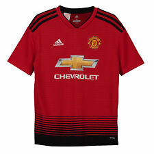 Kid 11-12yrs adidas Man United Home Shirt 18-19 Alexis 7 Kohler Mu5