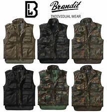 Brandit 4014 Ranger Vest Waistcoat Tactical Military Army Combat Fishing