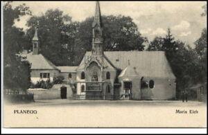 PLANEGG b. München Partie a.d. Kirche Maria Eich ~1910 alte Postkarte Bayern