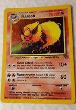 HOLO Flareon 3//64 Jungle Pokemon Card PL $1 Flat Shipping