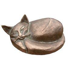 Bronze Figur Skulptur Kater Katze 15 cm  Bronze sculpture tomcat