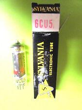 6CU5 SYLVANIA VINTAGE (TUBE), (NEW IN BOX / NEW OLD STOCK).