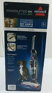 BISSELL PowerLifter Ion Pet Purple Stick 2 in 1 Cordless Vacuum Cleaner 2482