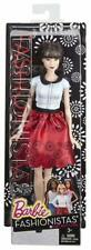 Barbie Fashionistas Doll 19 Ruby Red Floral (Brand New) FREE SHIPPING
