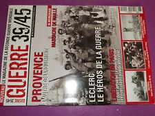 25$$ Revue Guerre 39/45 n°2 Provence / Maillé / Liberation Paris / Angleterre
