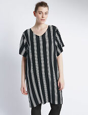 Marks and Spencer Striped Plus Size Dresses for Women
