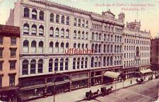 STRAWBRIDGE & CLOTHIER'S DEPARTMENT STORE. Market & 8th St PHILADELPHIA, PA 1911
