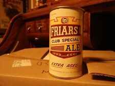 Friars Club Special Ale Flat Top Beer Can No Top