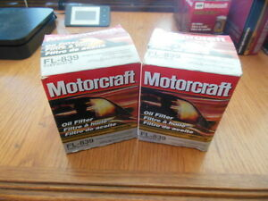 2 NOS Oil Filters For Some 80-97 Infiniti, Mercury, Nissan & Subaru