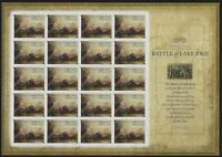 US MNH Forever Stamps - Scott # 4805 - Battle of Lake Erie Complete Sheet